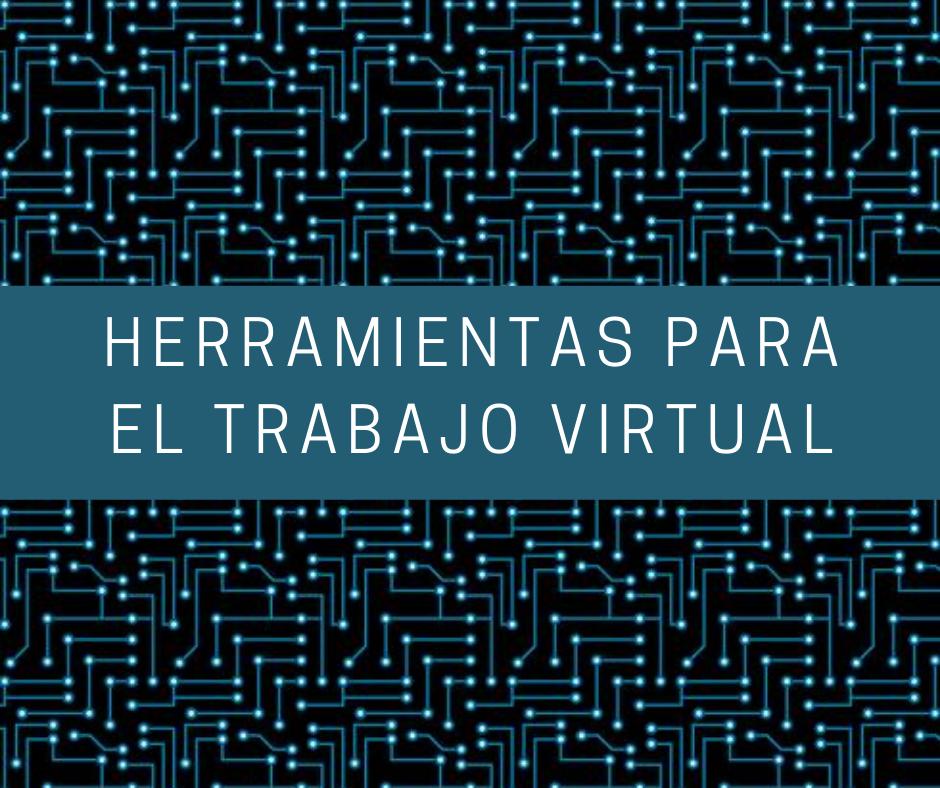 Herramientas virtuales para el docente online